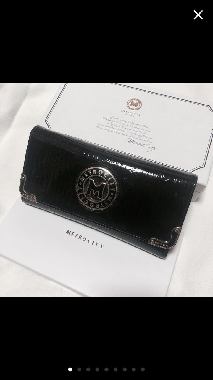 메트로시티(정품)장지갑