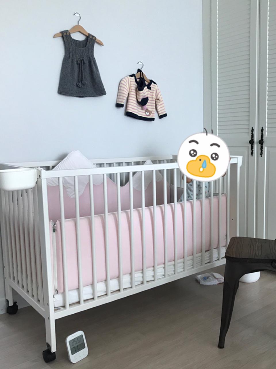 이케아 굴리베르 아기침대 (범퍼포함 풀세트)