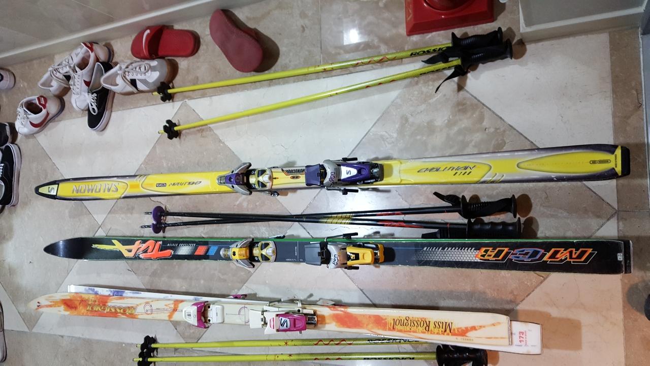 스키장비 175 monocoque