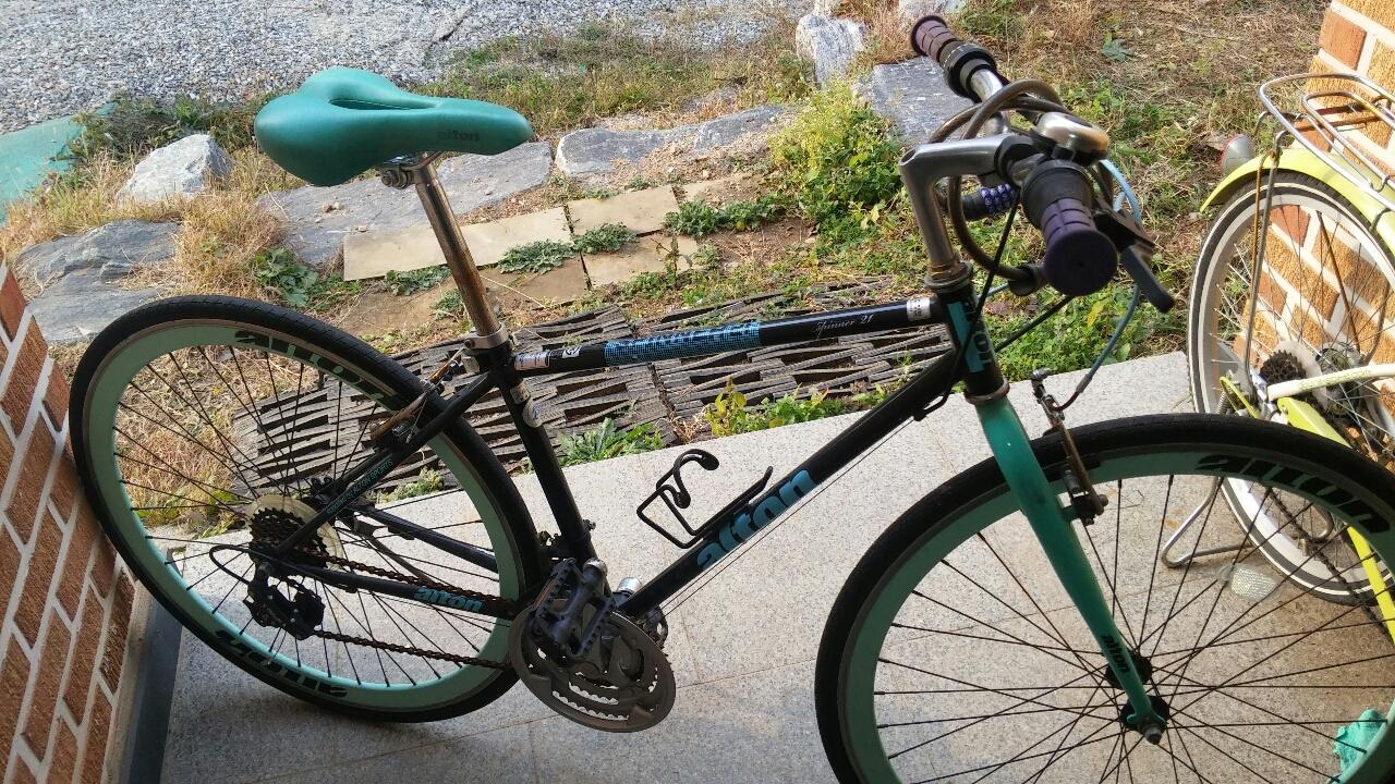 중고생  통학 자전거 딱!!