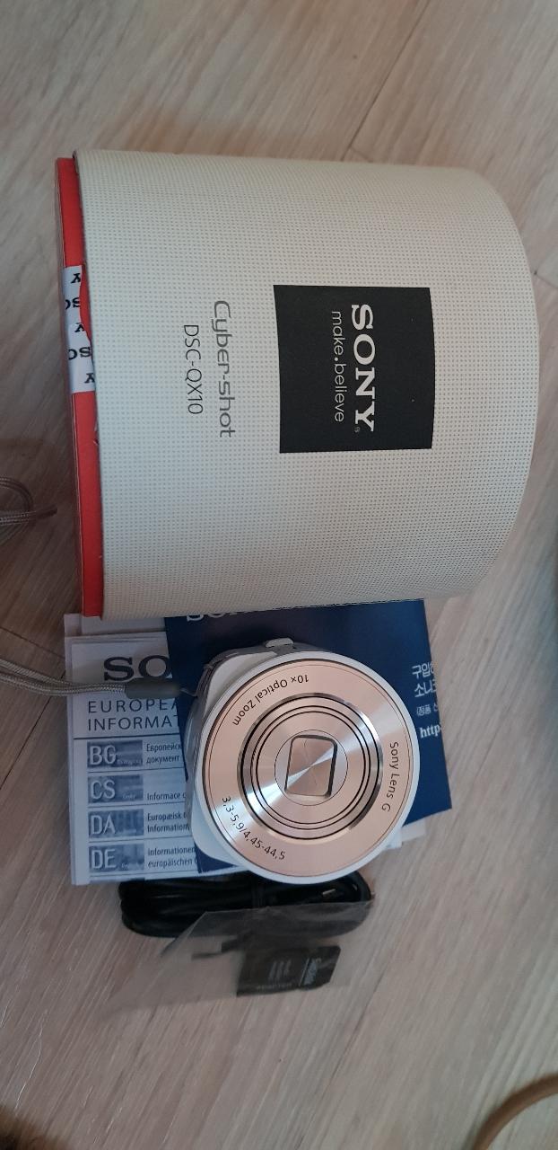 소니카메라 DSC-QX10  소니정품 렌즈카메라