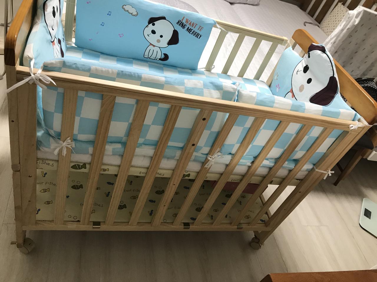 벨라베이비베드 아기침대 원목아기침대