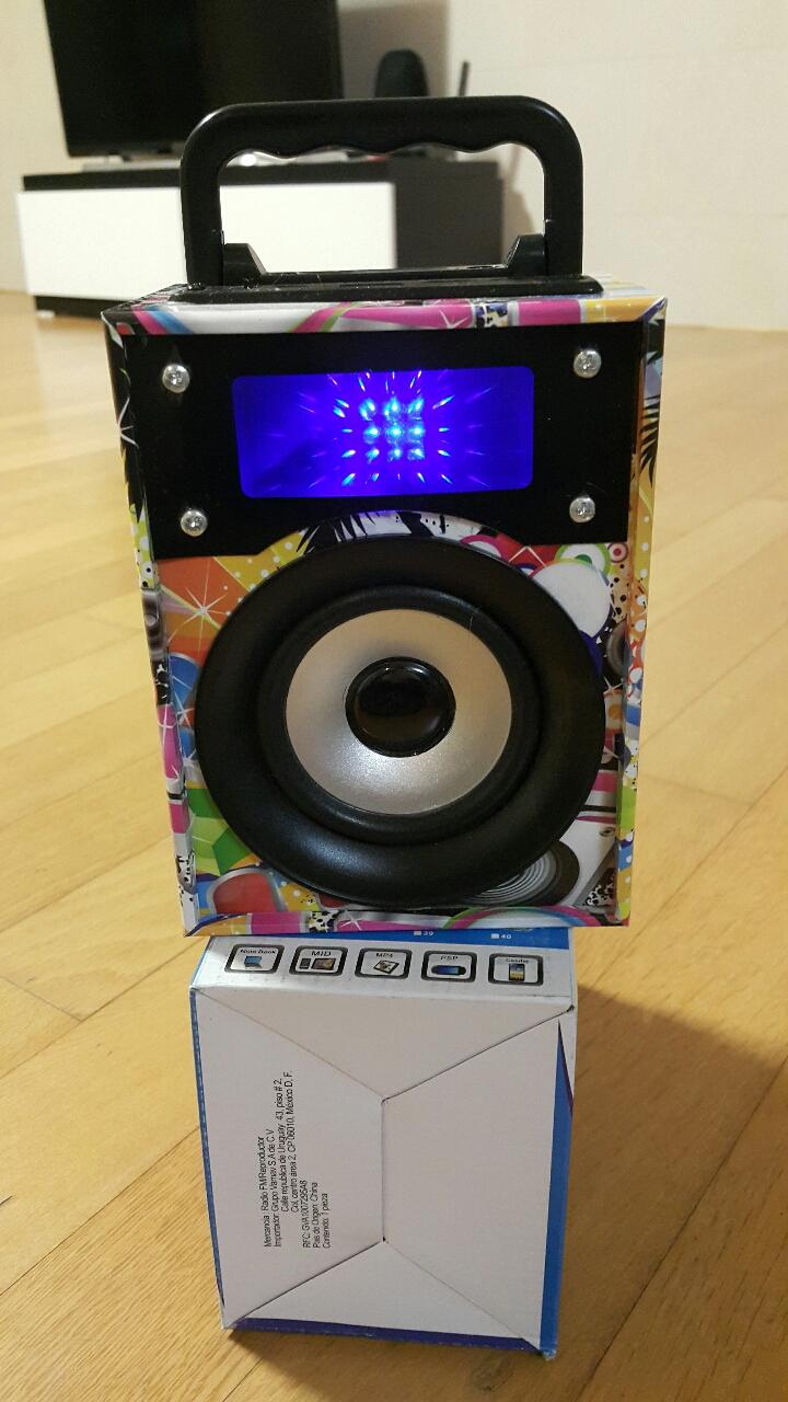 ✔USB .MP3 LED플레이어 스피커 (미사용)