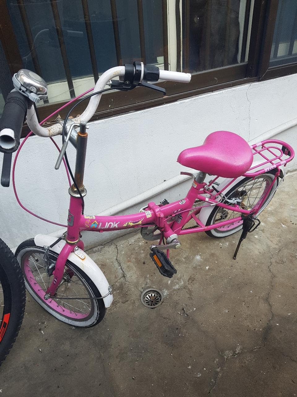 삼천리 접이식16인치자전거