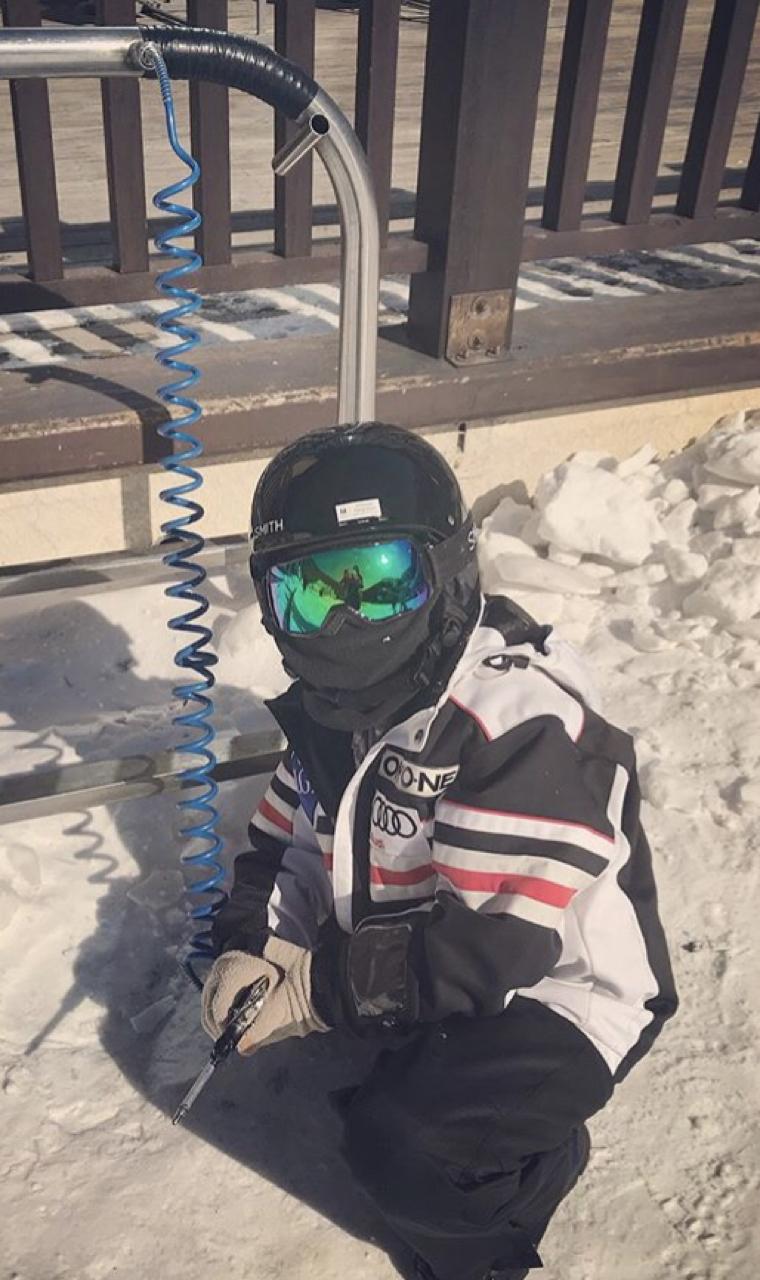 온요네 팀복 아동 스키복140