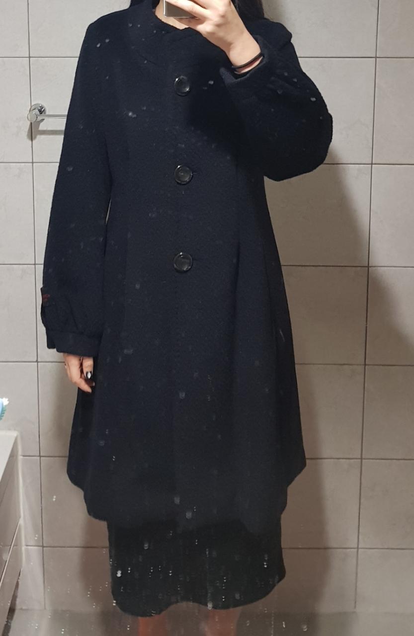 잇미샤 코트 네이비