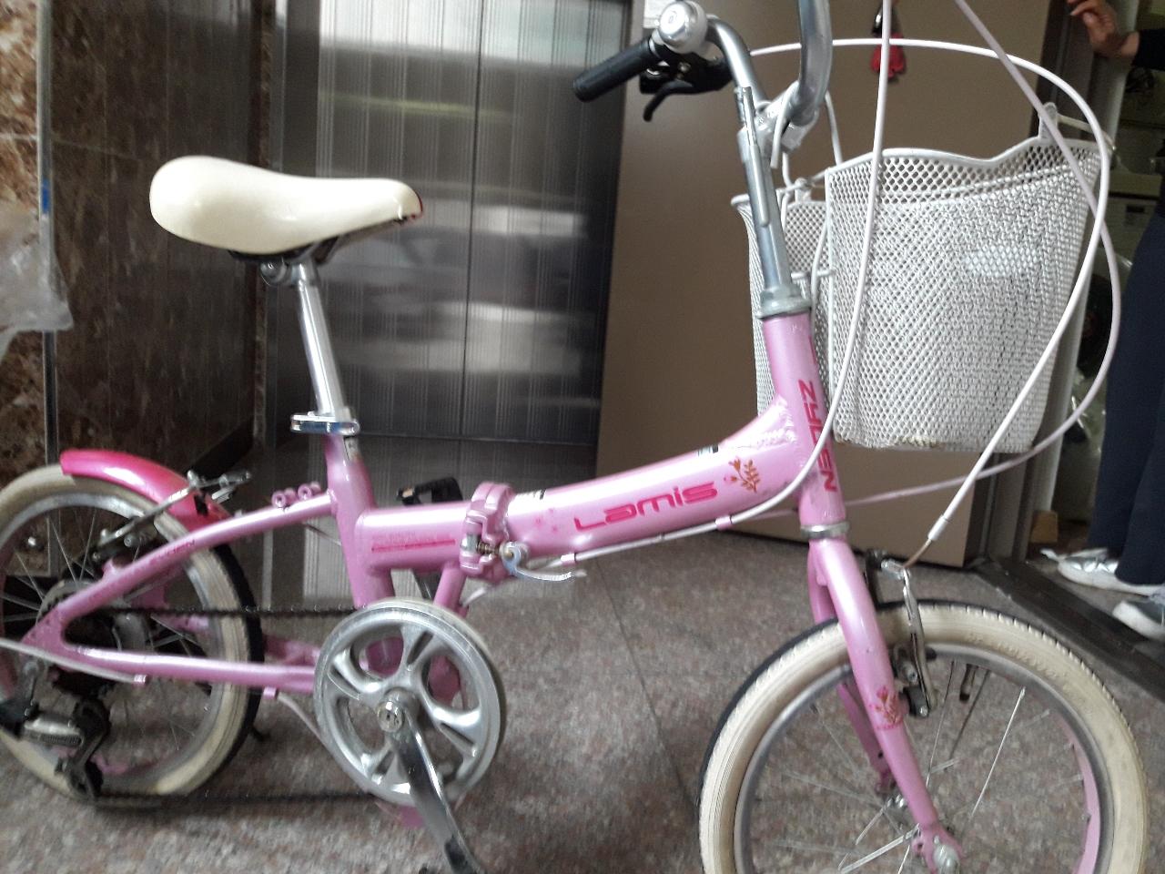 여아용 자전거