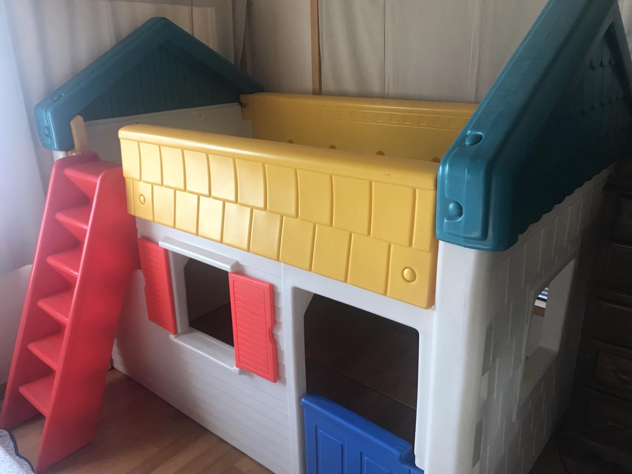 어린이 이층 침대 2층 침대