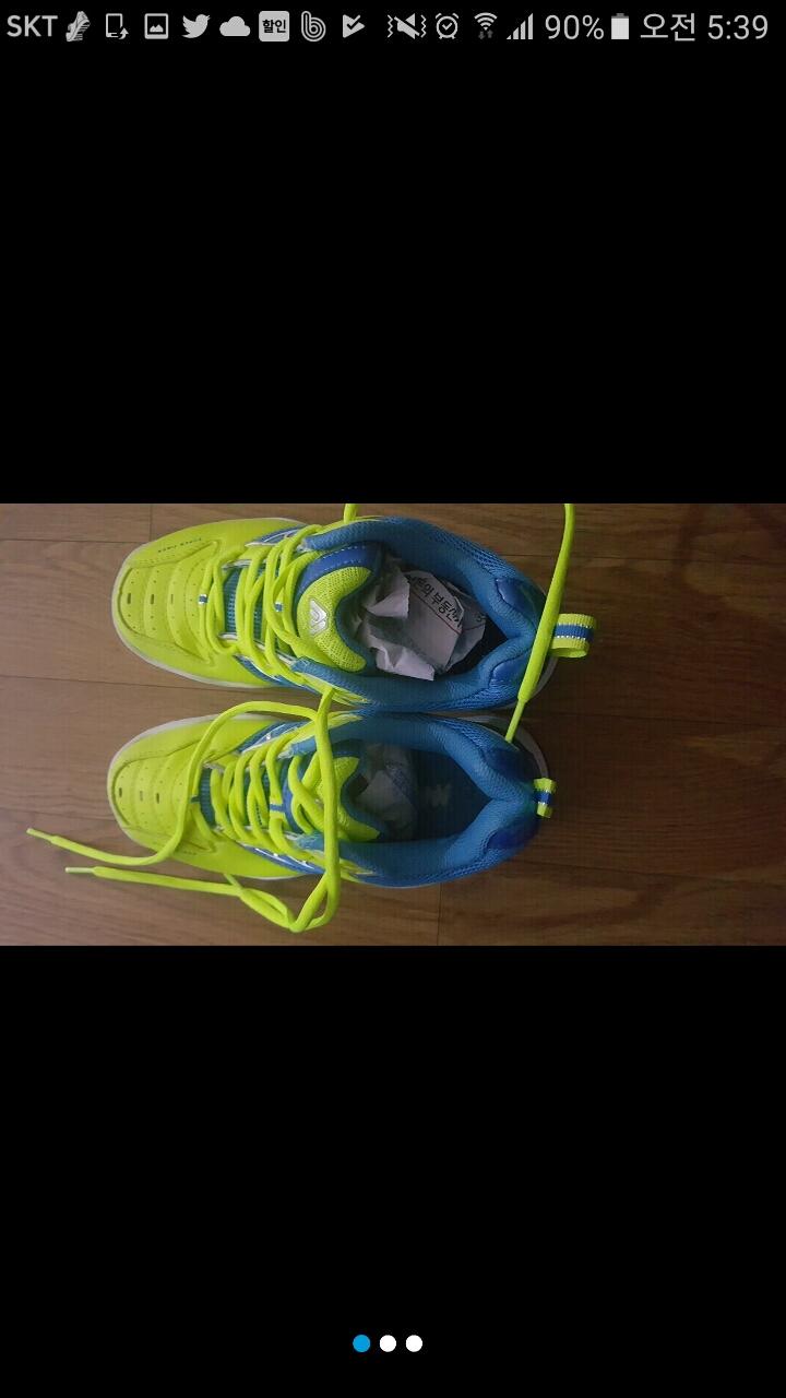 배드민턴 신발 거의새거 230