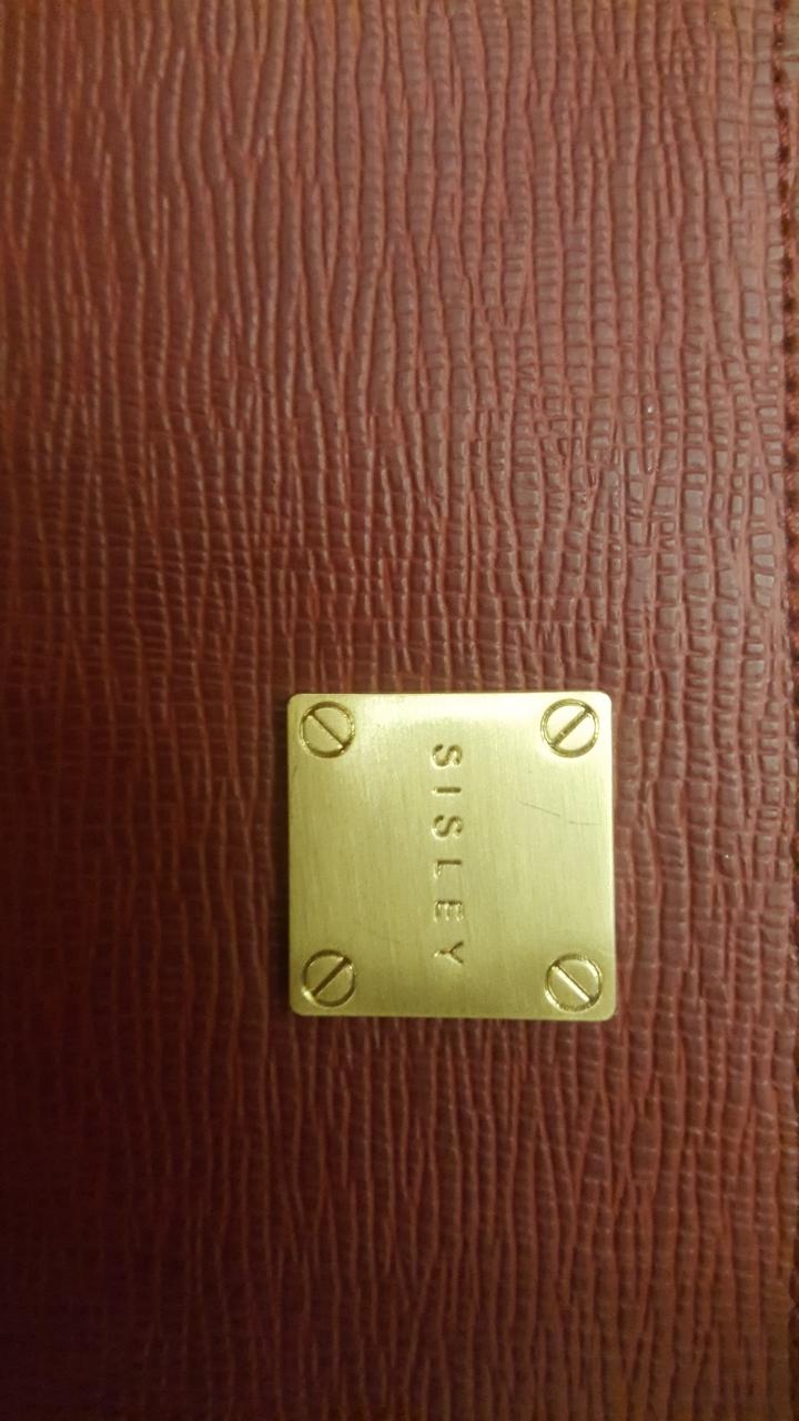 시슬리 클러치(버건디 색상)