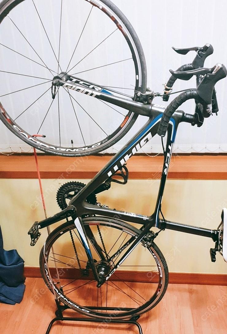 로드 자전거 - tcr 어드밴스2 (M) + 휠 + 자전거부품