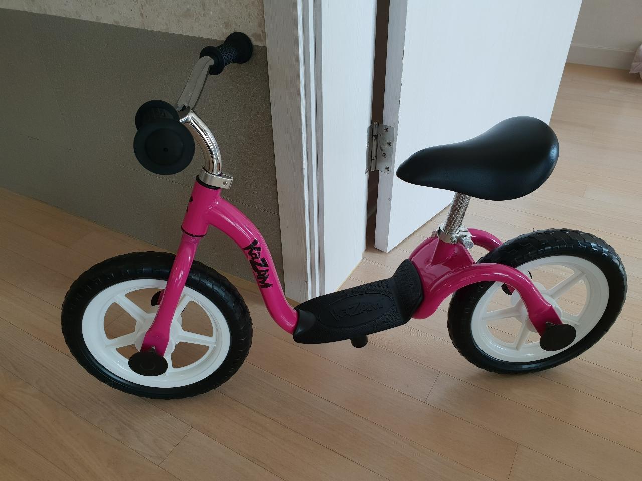 아동자전거/유아자전거/아기자전거/페달없는자전거/자전거 (카잠 밸런스 바이크)