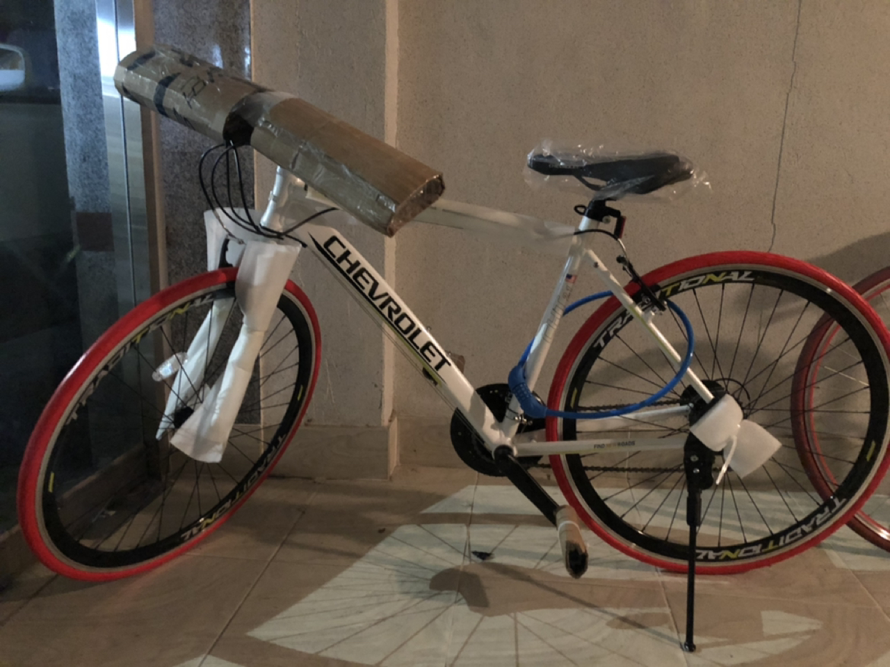 새 자전거 싸게 가져가세요