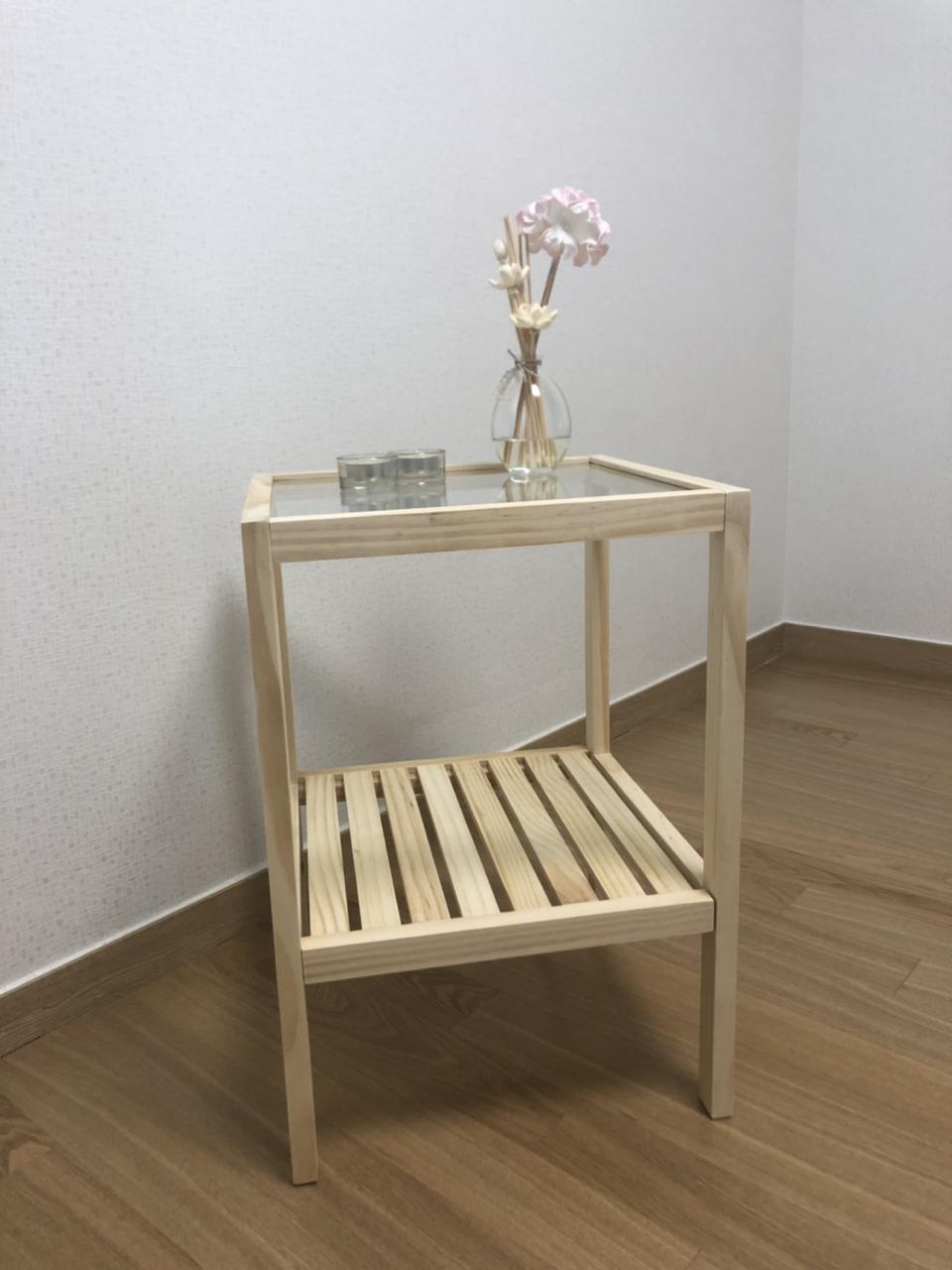 원목 보조테이블 테이블