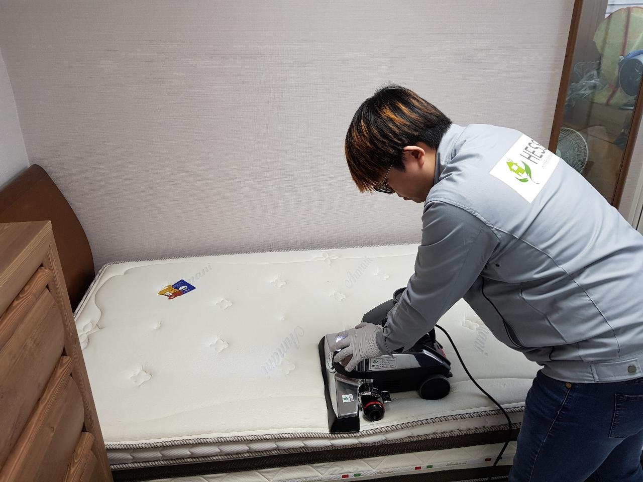 침대 매트리스 완전 깔끔 청소 ㆍ세탁기ㆍ냉장고ㆍ가습기ㆍ에어컨 ㆍ후드 케어ㆍ라돈 등 24종실내환경 측정