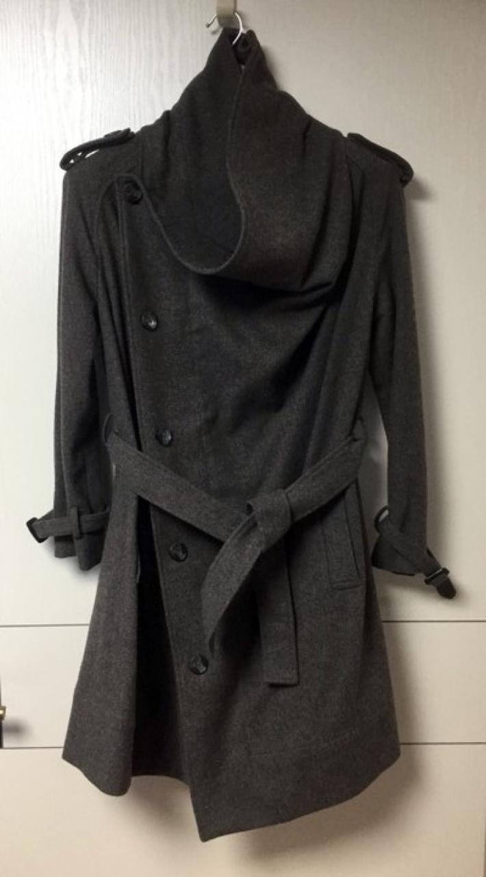 올세인츠 그레이 코트 (가격내림)
