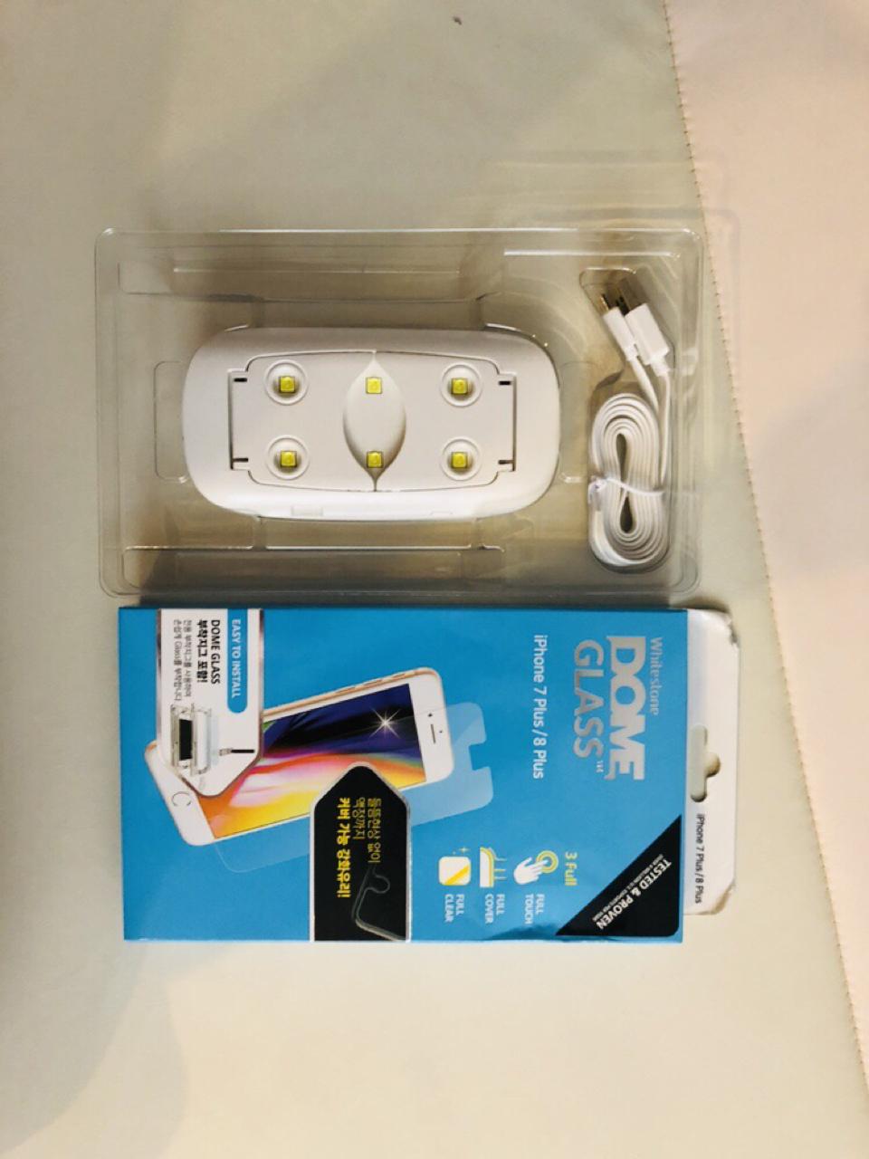 돔글라스 아이폰7플러스/아이폰 8플러스