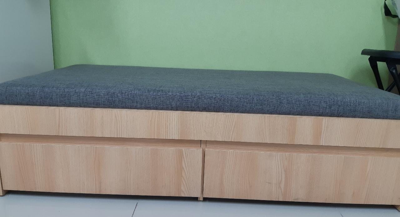 미니쇼파겸 침대