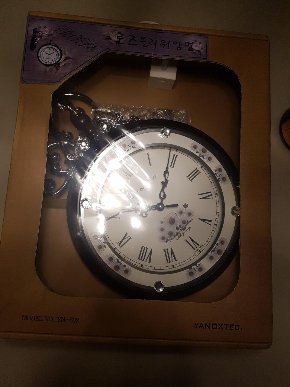 새상품)고급 엔틱 벽걸이 시계