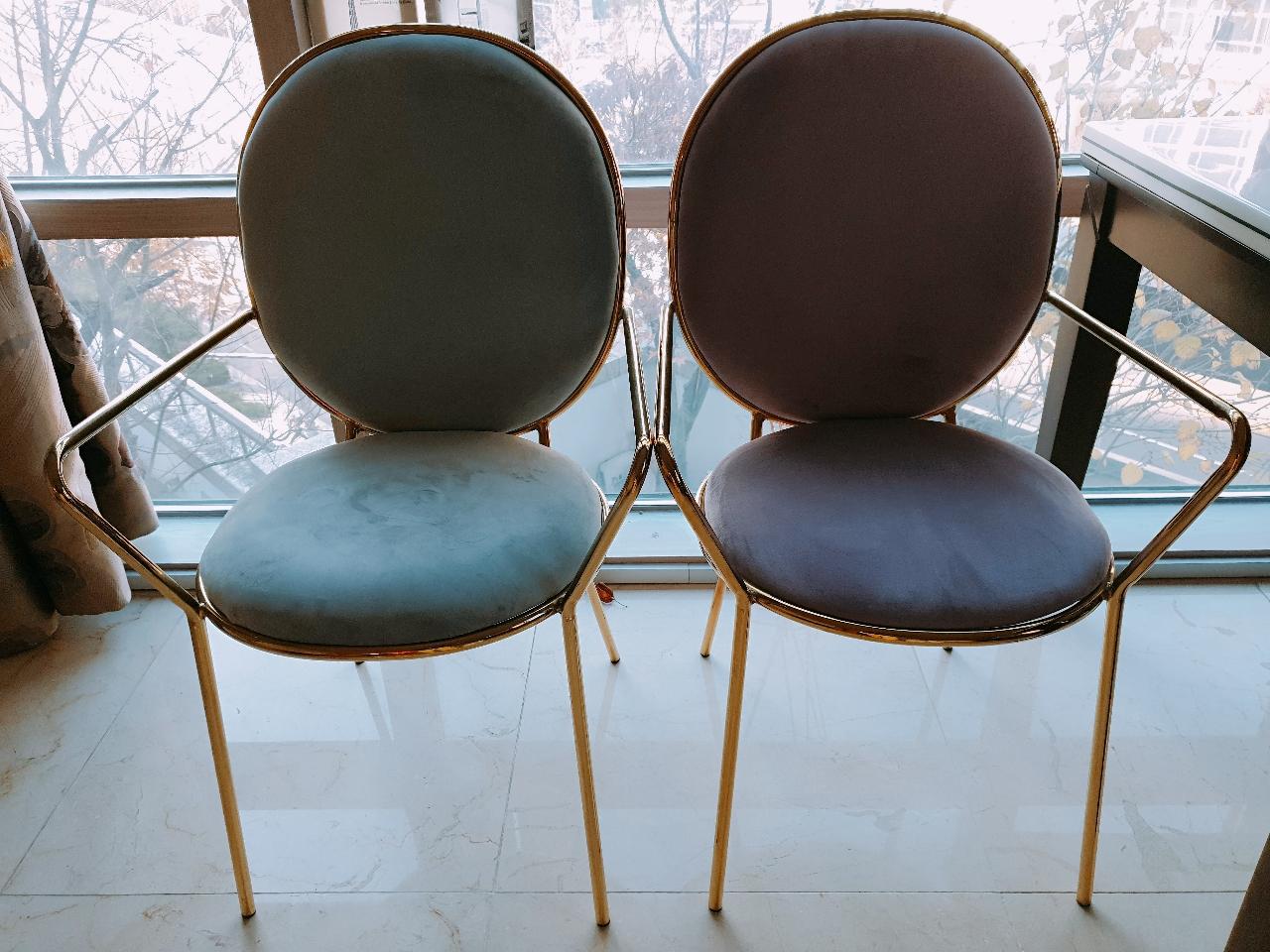 벨벳 인테리어 의자 벨벳의자 카페의자 체어