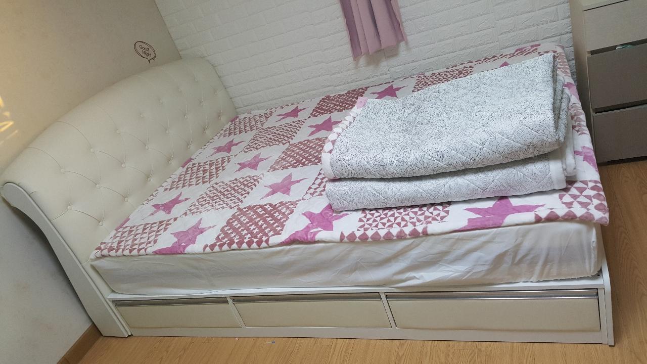 보루네오 침대(퀸), 수납형침대