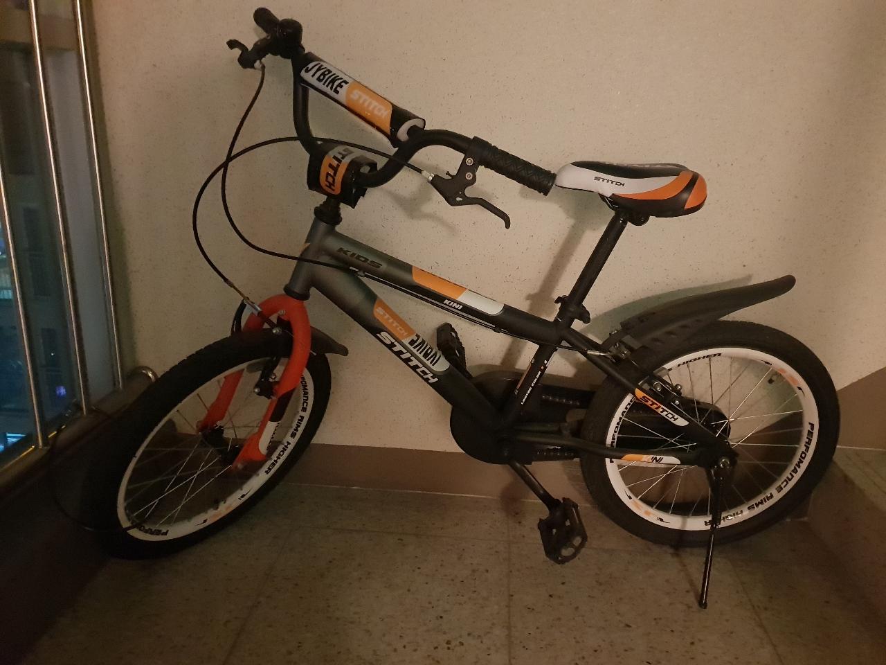#키니자전거 #18인치자전거 #보조바퀴자전거