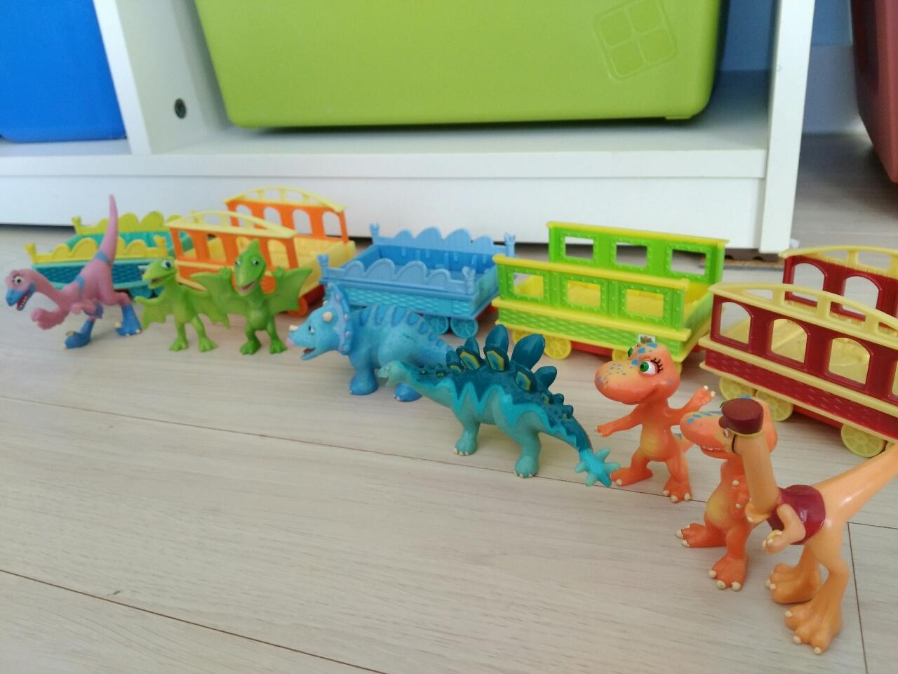 다이노소어 공룡기차