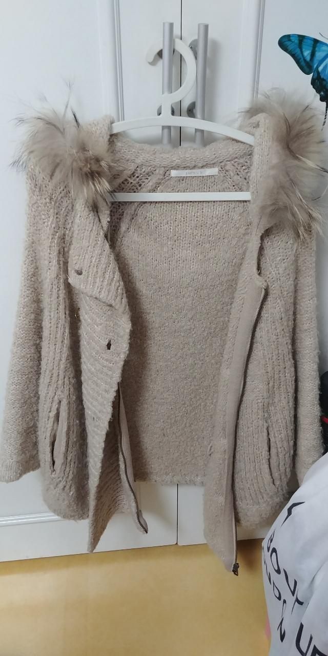 망토형 스웨터(새옷)