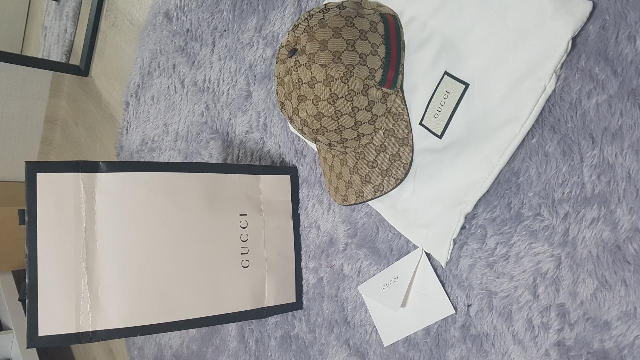 새상품 구찌 볼캡 정품 L사이즈(59) 판매