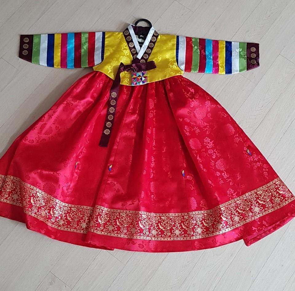 4호 색동한복 전통한복