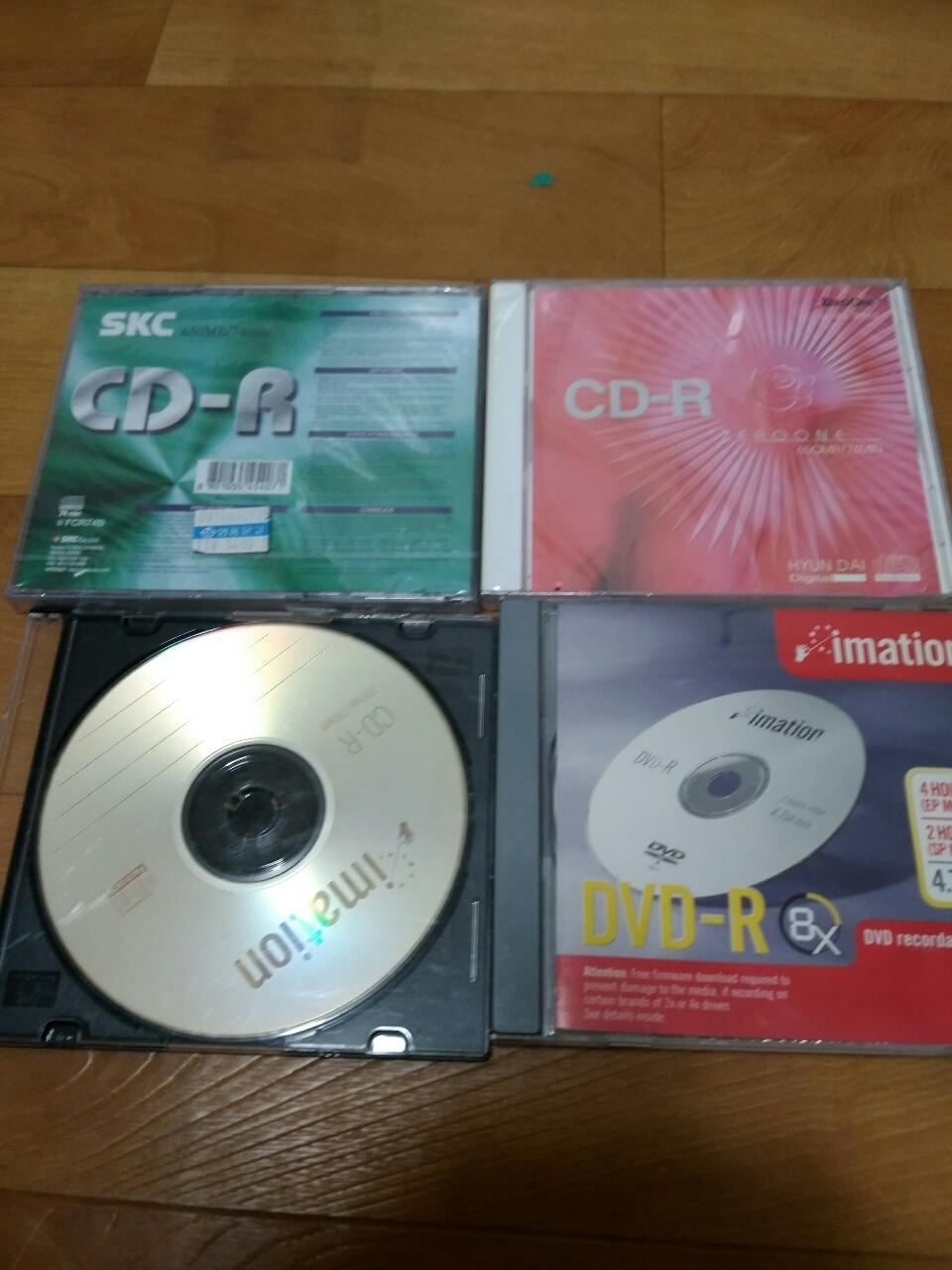 안쓴 CD들