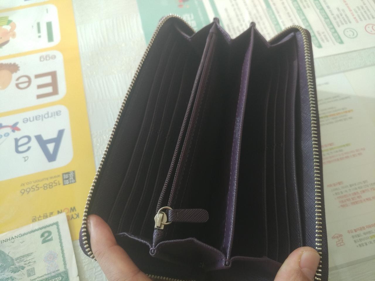 코치 지갑 장지갑 통장지갑