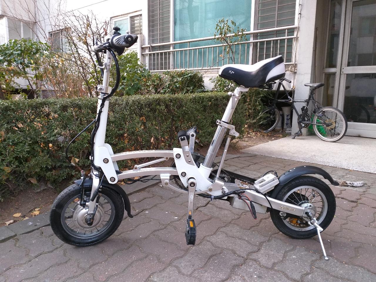 전기자전거를 일반자전거로