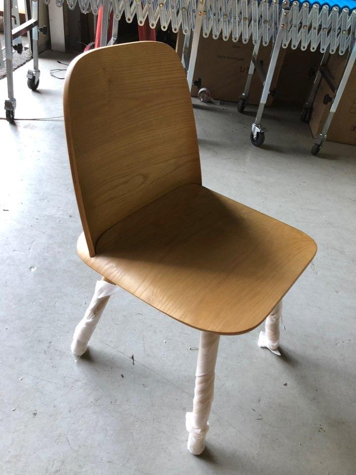 새상품 할인 원목의자