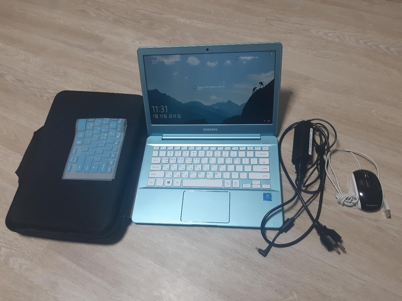 삼성A급 스카이블루 노트북