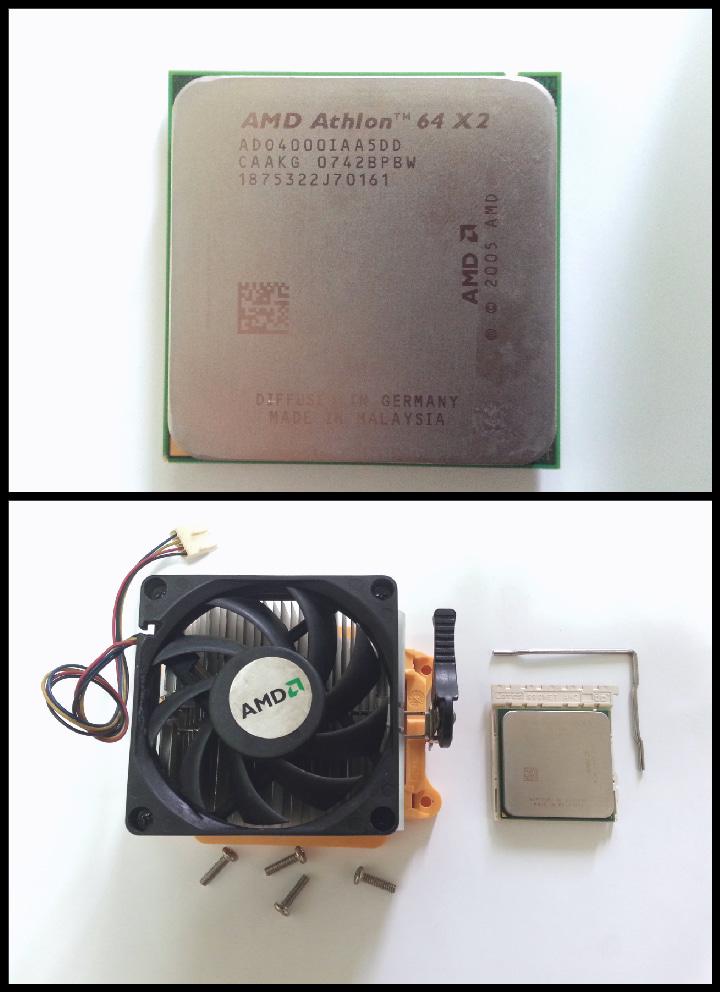 다드림/AMD 애슬론(64×2 브리즈번4000+) CPU+정품 소켓+쿨러/DMB 및 TV 수신카드 교신가능