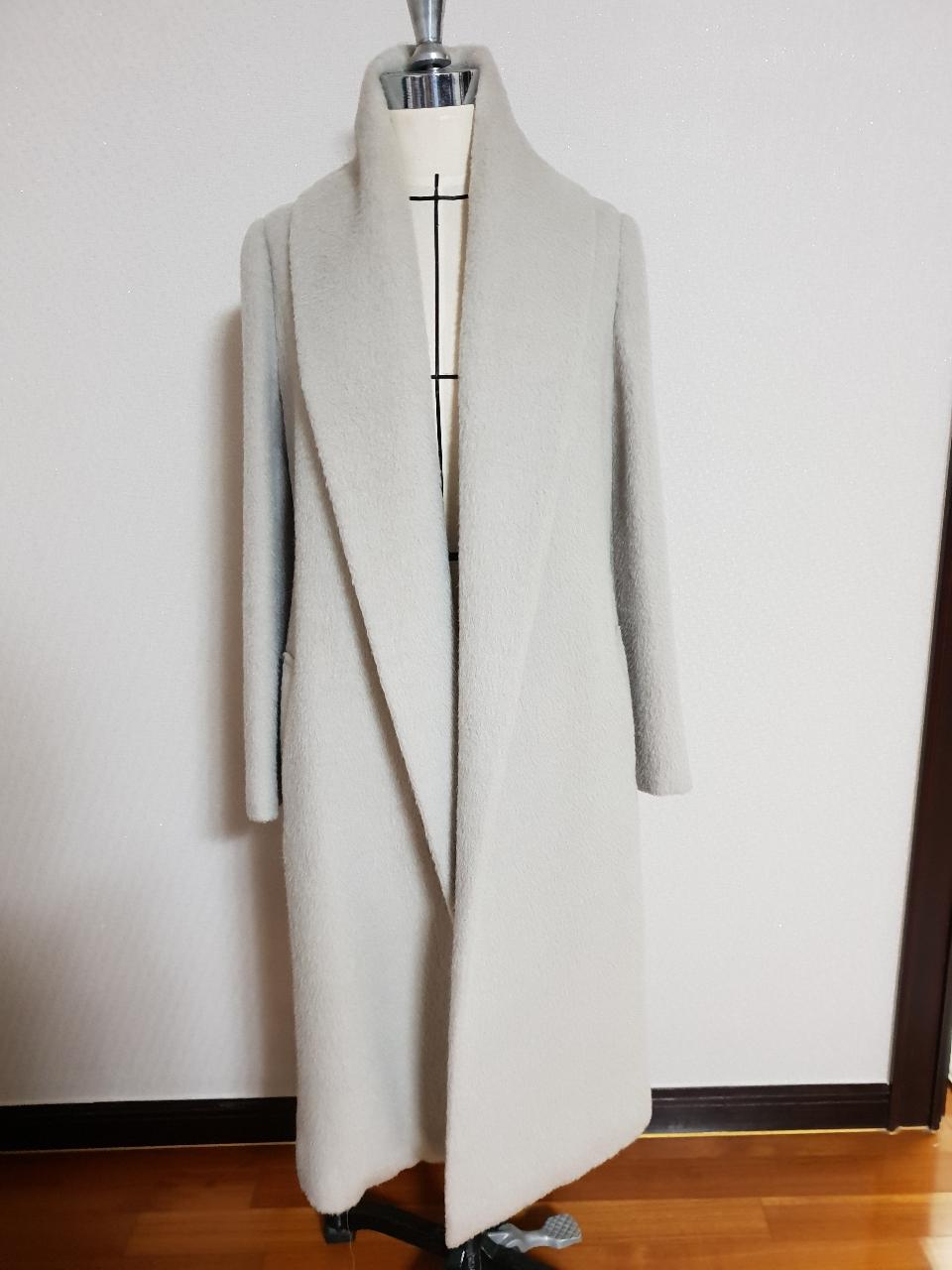 울 알파카 코트