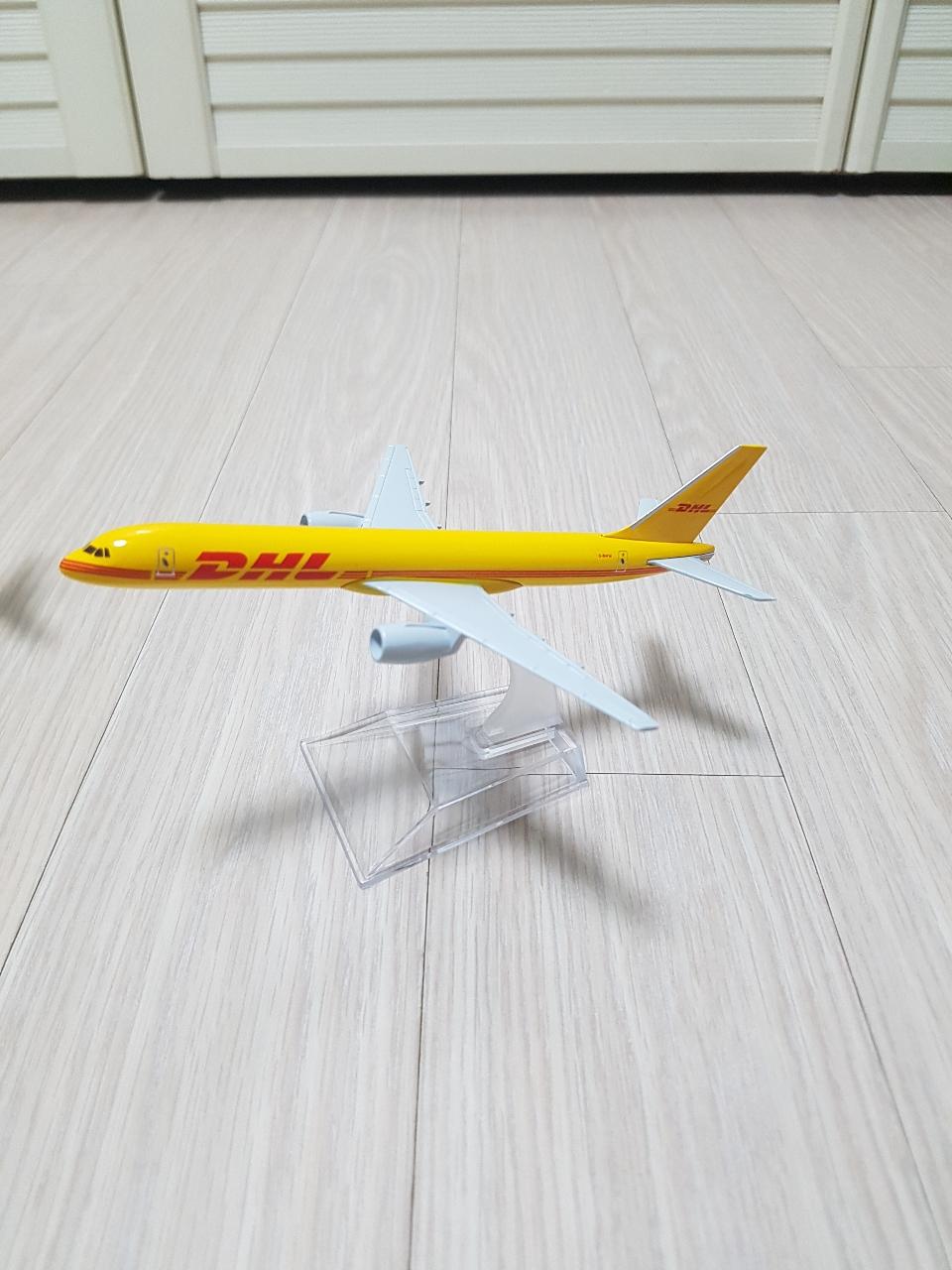 DHL비행기 항공기 장식 장남감