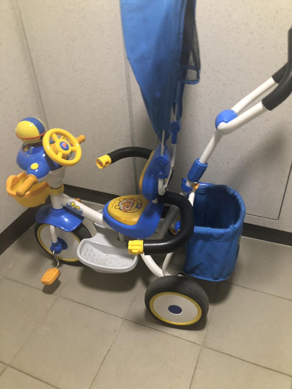 뽀로로자전거 유아자전거