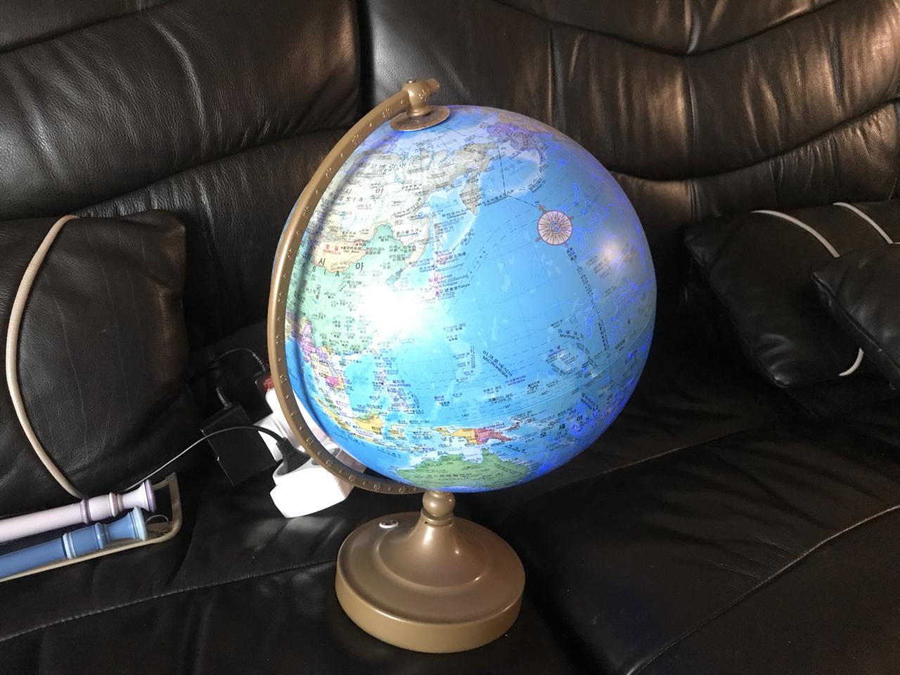 불 켜지는 별자리 지구본
