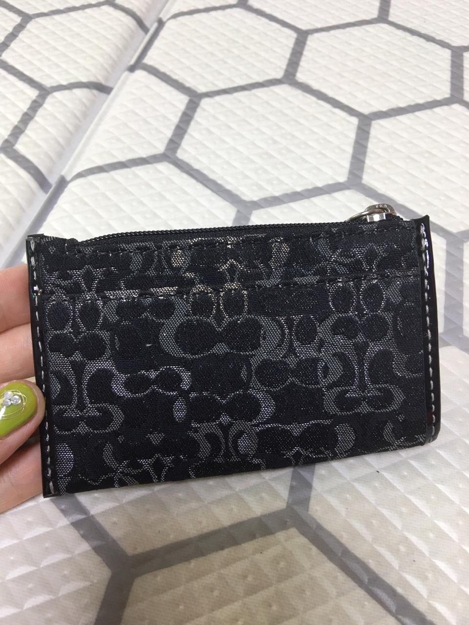 새상품)미국에서구매,코치 키홀더 지갑, 명함지갑,미니지갑