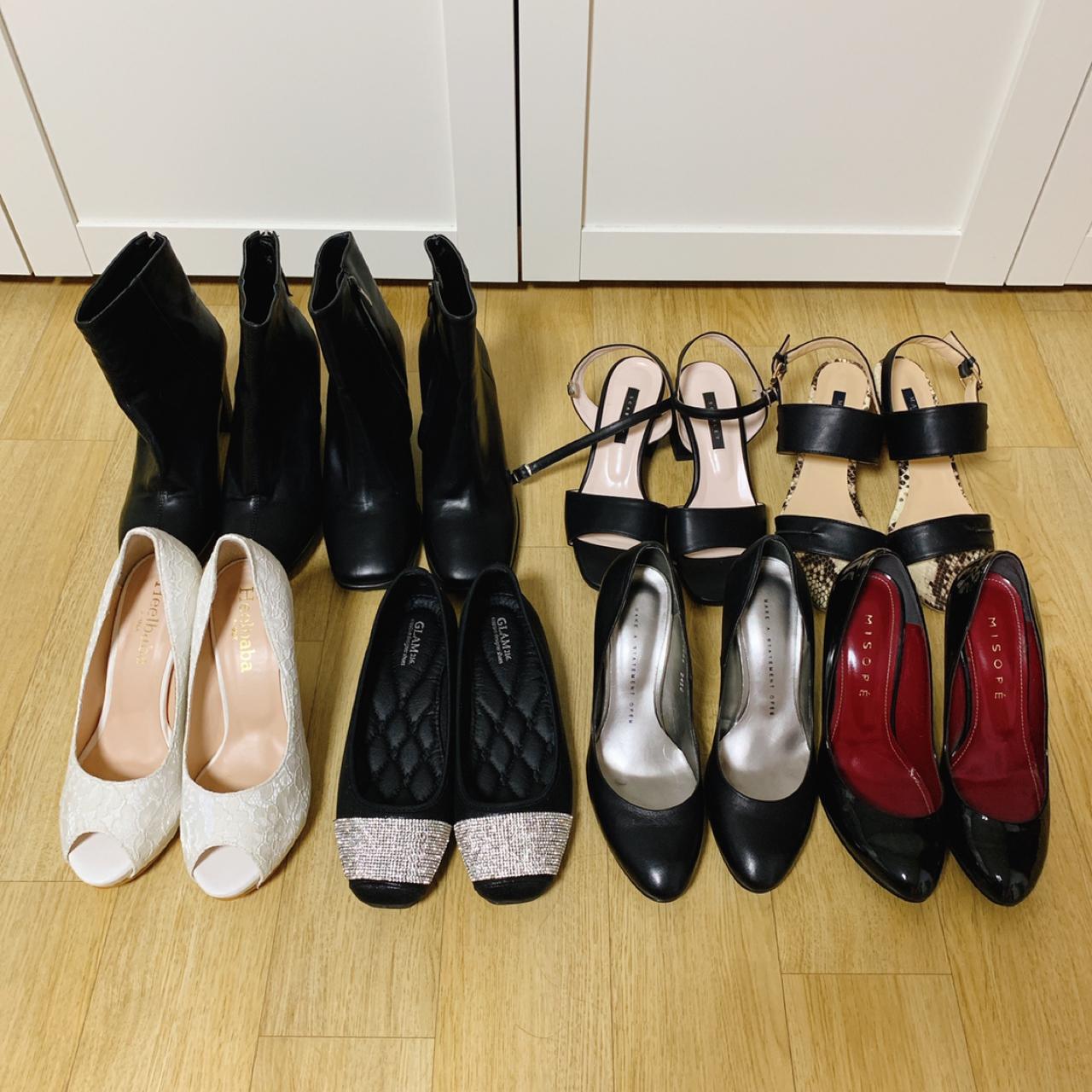 새신발 . 몇번안신은 신발 전부 판매해요 (245. 250) 좋은가격에 구매하셔요