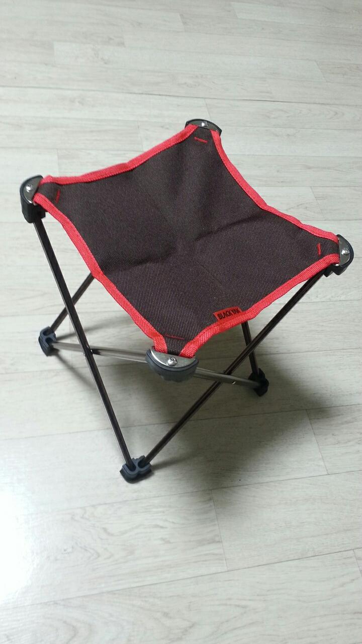 블랙야크 정품 미니의자 캠핑 낚시의자  새것입니다