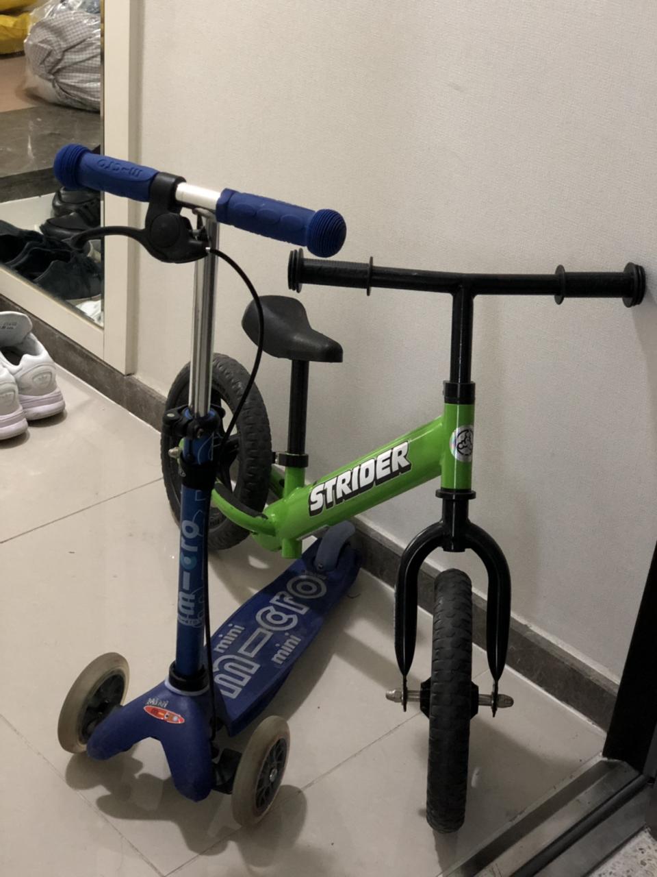 자전거 킥보드(스트라이더자전거(유아)&마이크로킥보드)