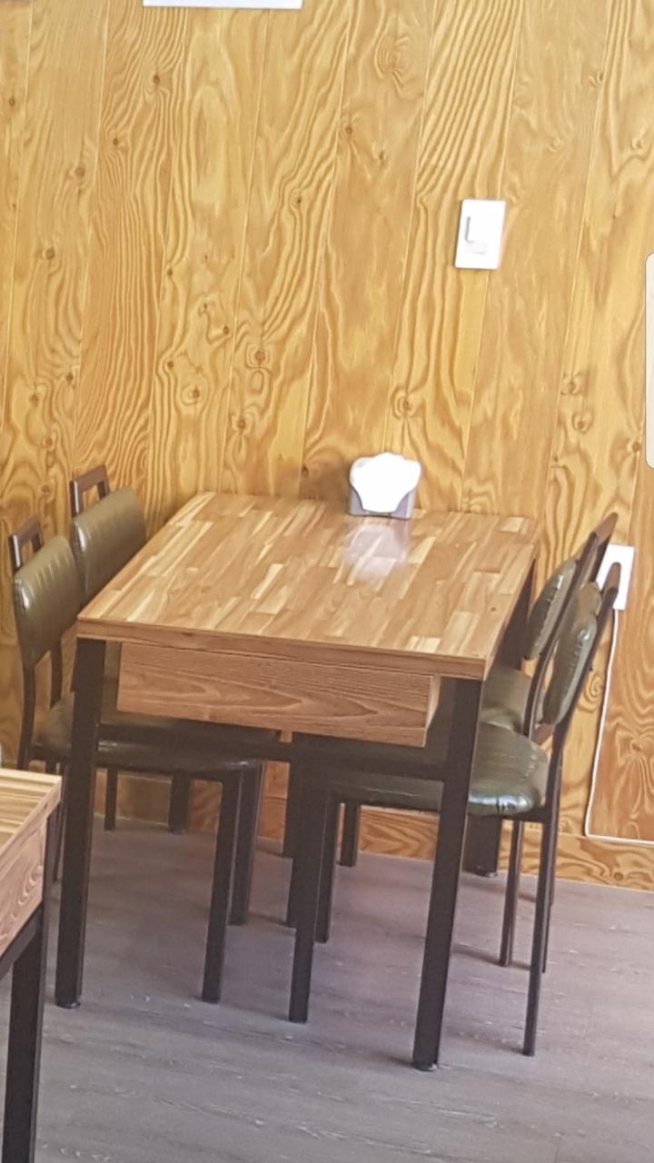 식당용 식탁 의자포함