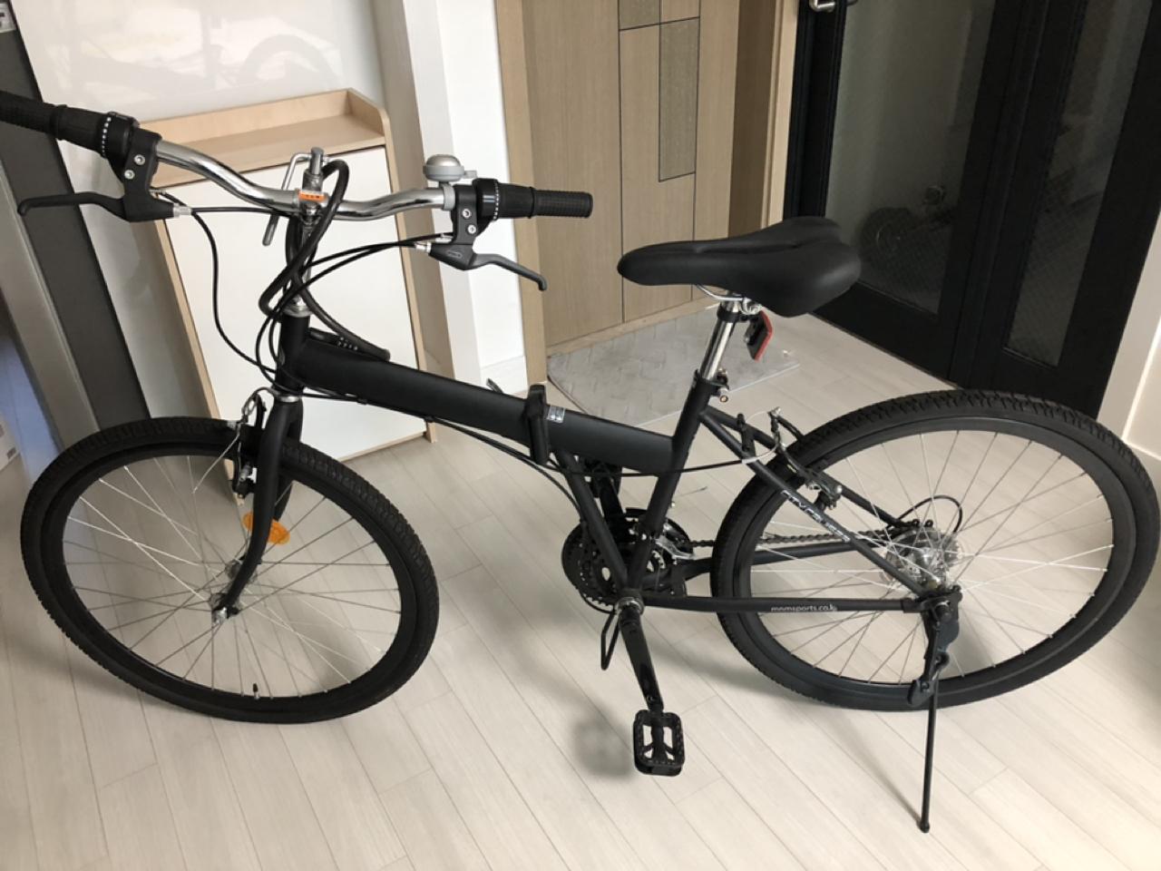 접이식 자전거 팝니다(같은자전거 두대)