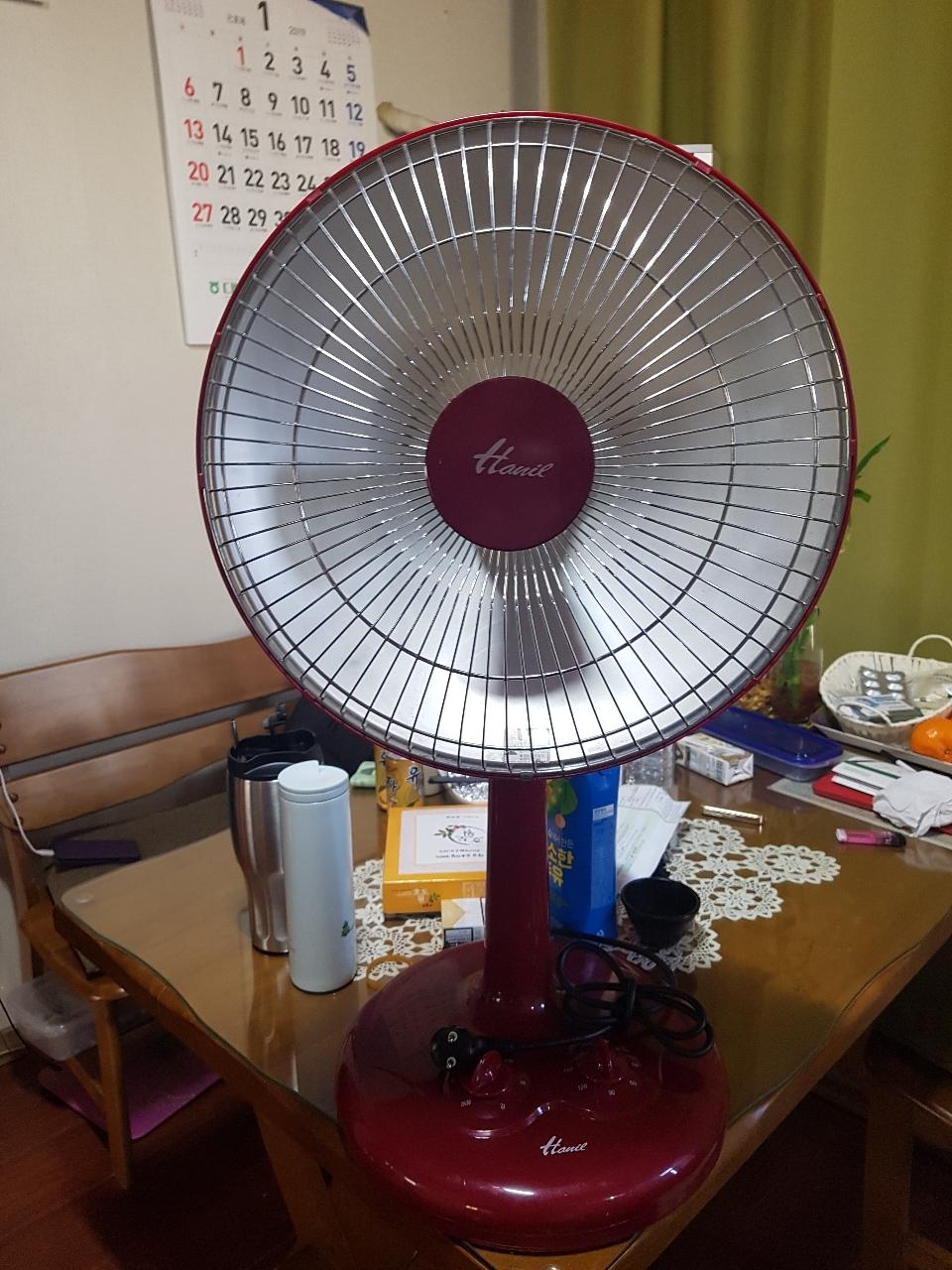 선풍기형 전기히터