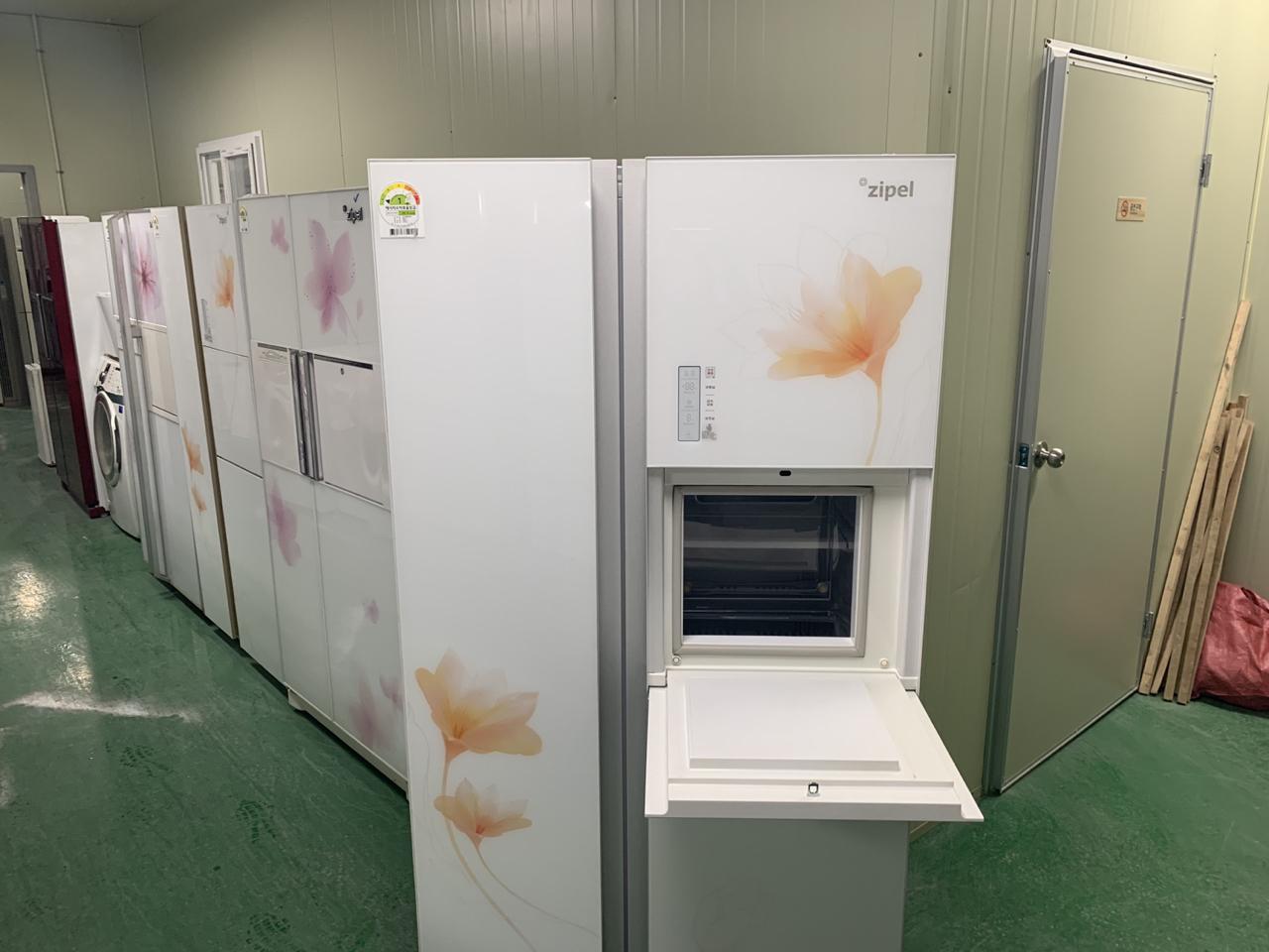 지펠 퍼니쳐스타일 양문형 홈바 냉장고 55만
