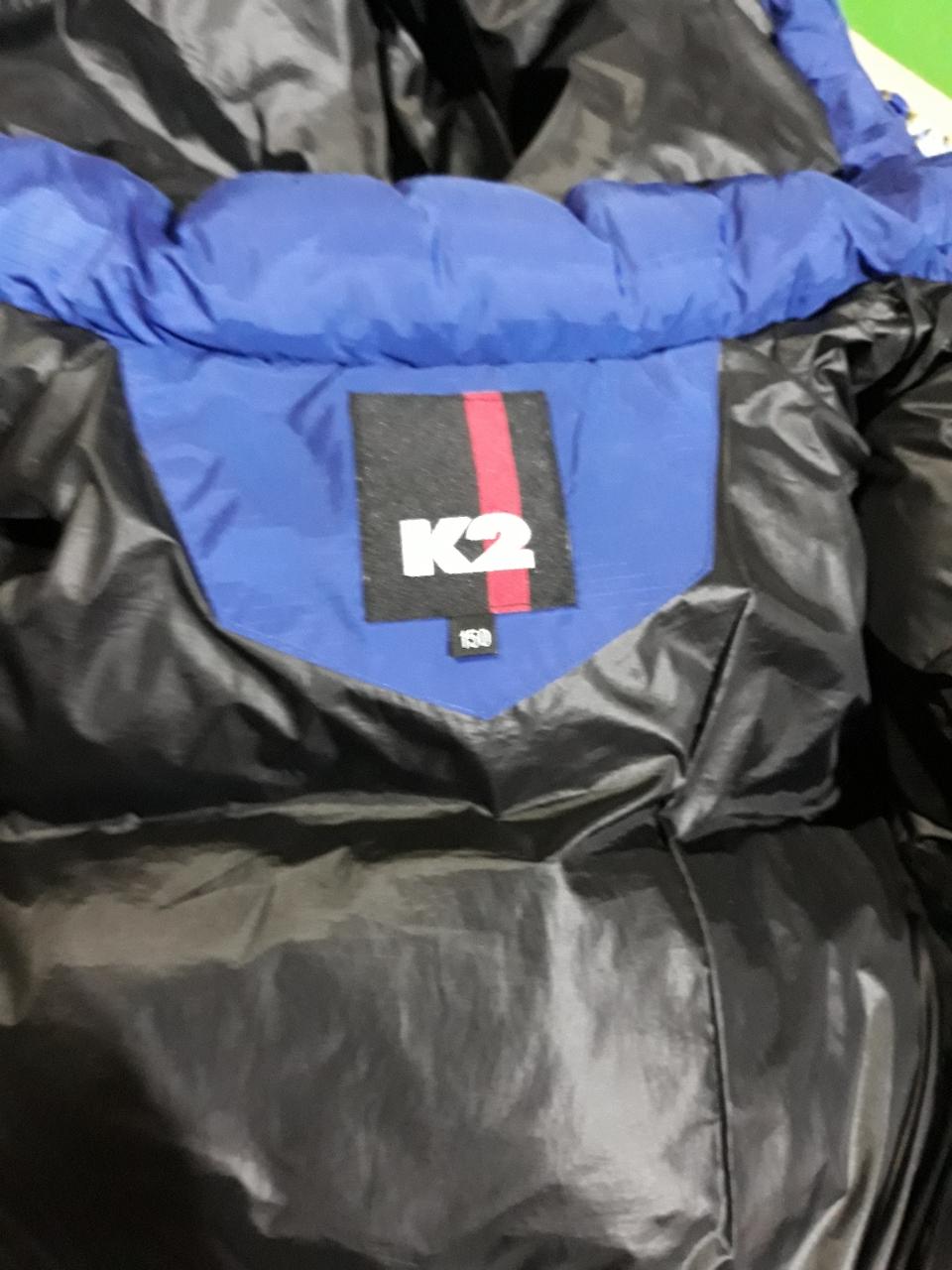 K2프랑스오리털 패딩이예요