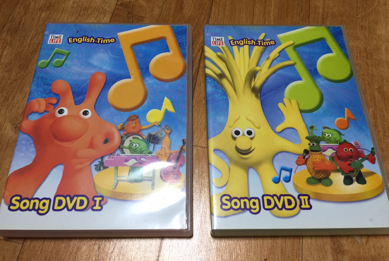 English-Time Song DVD1,2